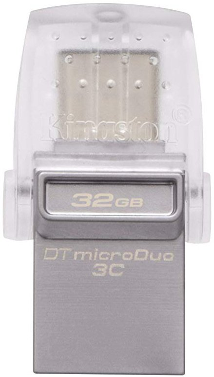 USB-флэш накопитель Kingston DataTraveler microDuo 3C 32GB (DTDUO3C/32Gb) фото