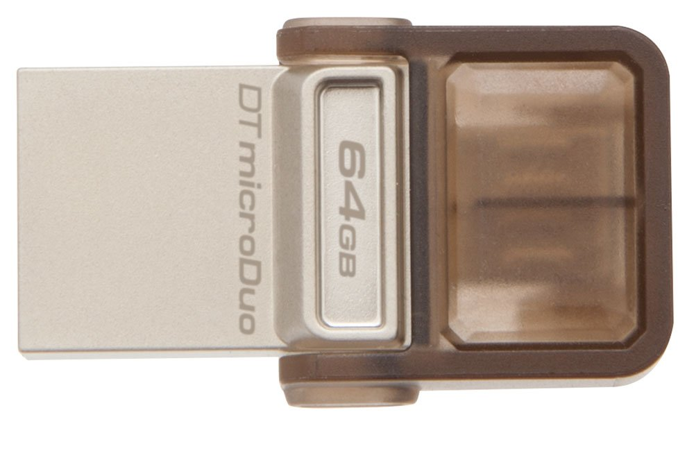 USB-флэш накопитель Kingston DataTraveler MicroDuo 64GB (DTDUO/64GB) фото