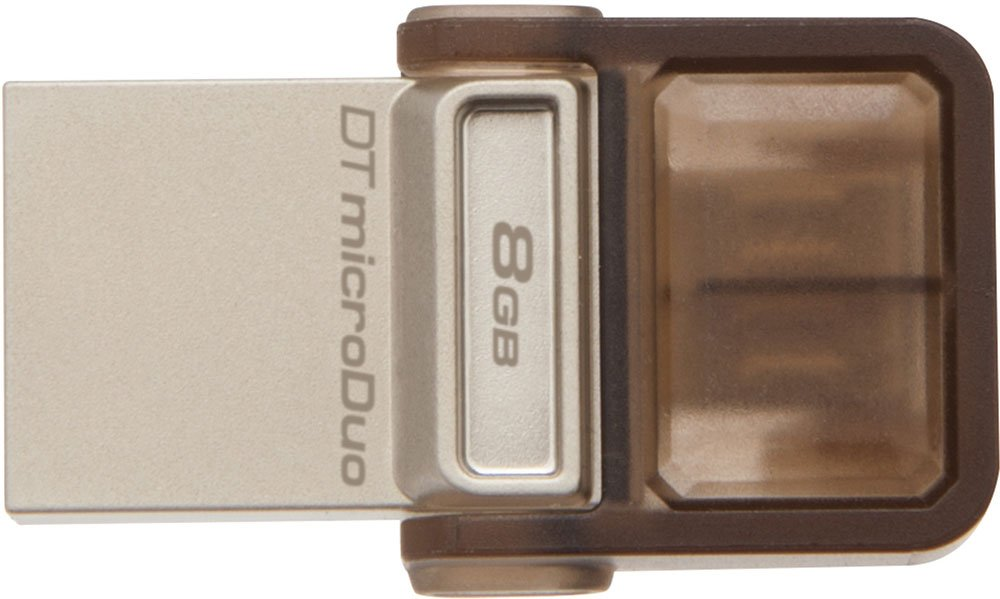 USB-флэш накопитель Kingston DataTraveler microDuo 8GB (DTDUO/8GB)