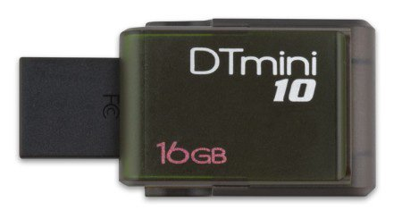 USB-флэш накопитель Kingston DataTraveler mini10 16Gb