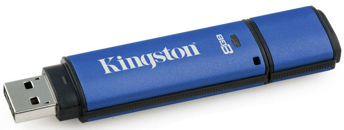 USB-флэш накопитель Kingston DataTraveler Vault 8Gb