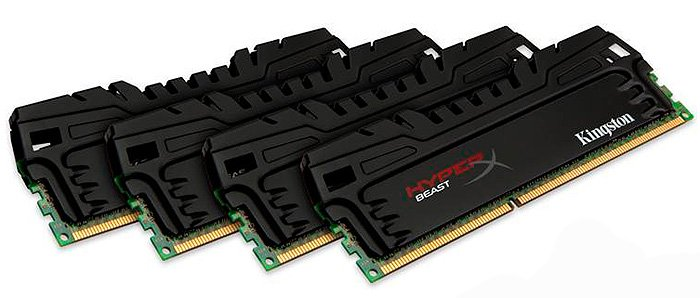 Модуль памяти Kingston HyperX Beast KHX16C9T3K4/32X DDR3 PC3-12800 4х8Gb