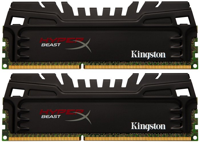 Модуль памяти Kingston HyperX Beast KHX21C11T3K2/16X DDR3 PC3-17000 2x8Gb