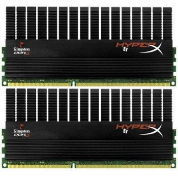 Модуль памяти Kingston HyperX CL11 KHX21C11T1BK2/8X DDR3 PC-17000 2x4Gb