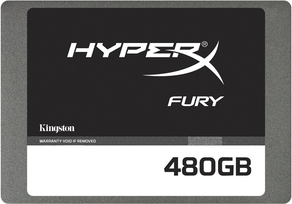 Жесткий диск SSD Kingston HyperX Fury (SHFS37A/480G) 480Gb