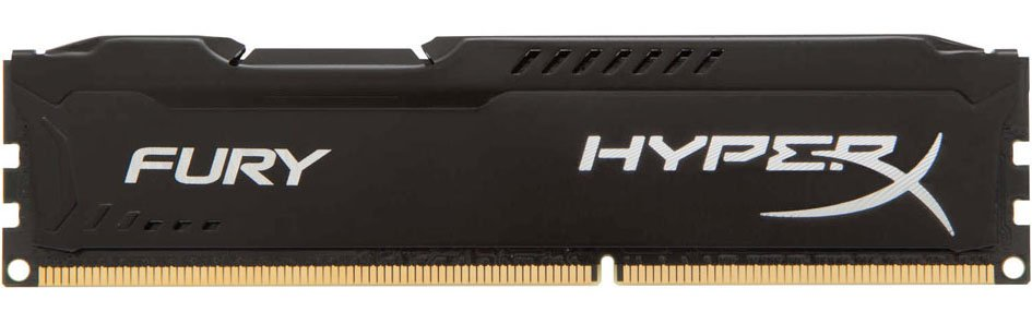 Модуль памяти Kingston HyperX Fury Black HX316C10FB/8 DDR3 PC-12800 8Gb