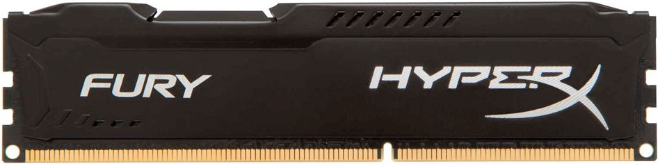 Модуль памяти Kingston HyperX Fury Black HX316LC10FB/8 DDR3 PC3-12800 8Gb  фото