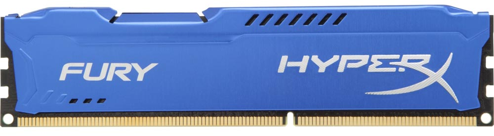 Модуль памяти Kingston HyperX Fury Blue HX318C10F/4 DDR3 PC3-14900 4Gb