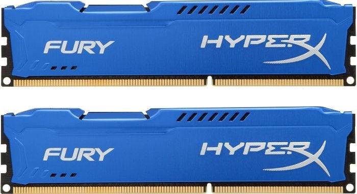 Комплект памяти Kingston HyperX Fury Blue HX318C10FK2/16 DDR3 PC-15000 2x8Gb