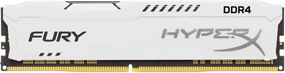 Модуль памяти Kingston HyperX Fury White HX421C14FW2/8 DDR4 PC4-17000 8Gb
