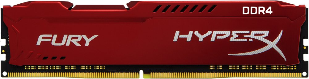 Модуль памяти Kingston HyperX Fury Red HX424C15FR2/8 DDR4 PC4-19200 8Gb