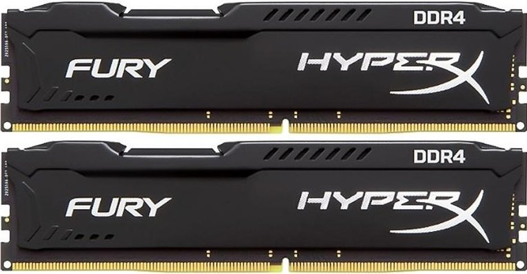 Комплект памяти Kingston HyperX Fury HX426C15FBK2/16 DDR4 PC4-21300 2x8Gb