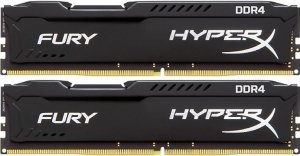 Комплект памяти Kingston HyperX Fury HX426C15FBK2/16 DDR4 PC4-21300 2x8Gb фото