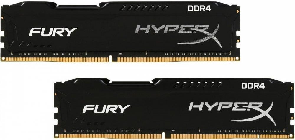 Комплект памяти Kingston HyperX Fury HX432C18FB2K2/16 DDR4 PC4-25600 2x8GB фото