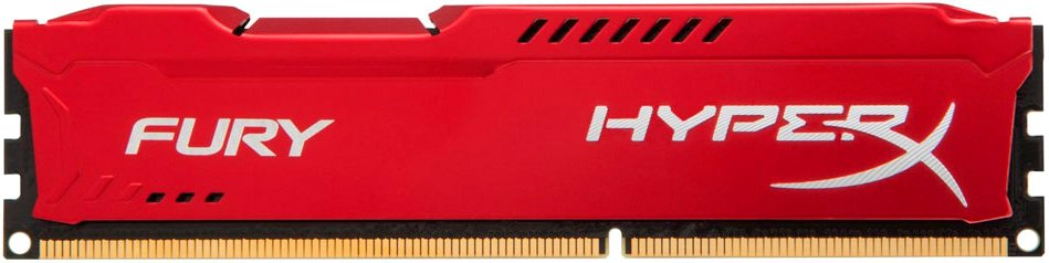 Модуль памяти Kingston HyperX Fury Red HX313C9FR/8 DDR3 PC3-10600 8Gb