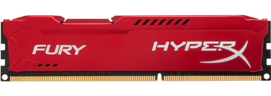 Модуль памяти Kingston HyperX Fury Red HX318C10FR/4 DDR3 PC-14900 4Gb фото