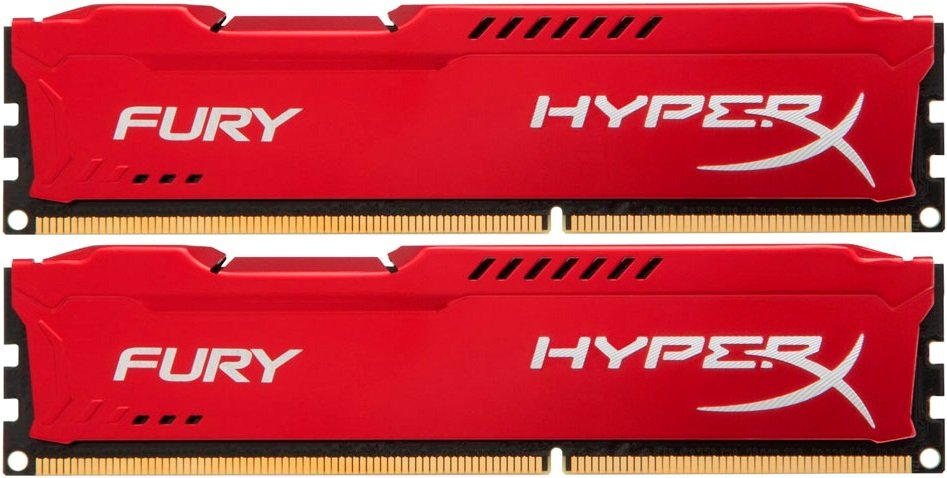 Комплект памяти Kingston HyperX Fury Red HX426C16FR2K2/16 DDR4 PC4-21300 2x8Gb