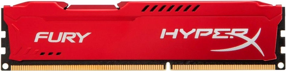 Модуль памяти Kingston HyperX Fury Red HX426C16FR/16 DDR4 PC4-21300 16Gb