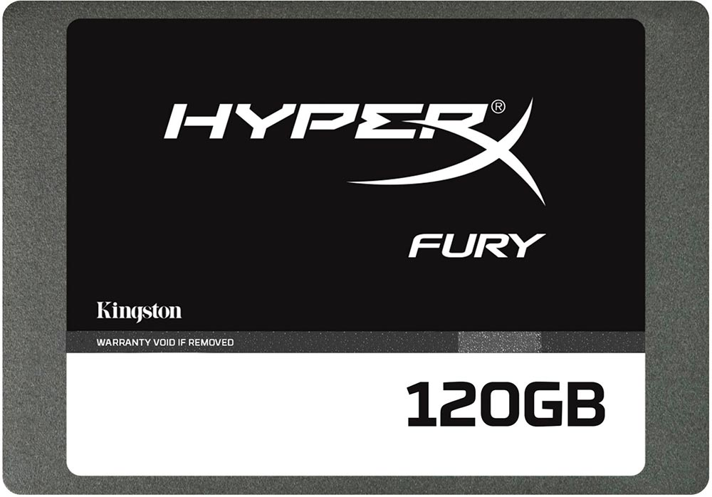 Жесткий диск SSD Kingston HyperX Fury (SHFS37A/120G) 120 Gb