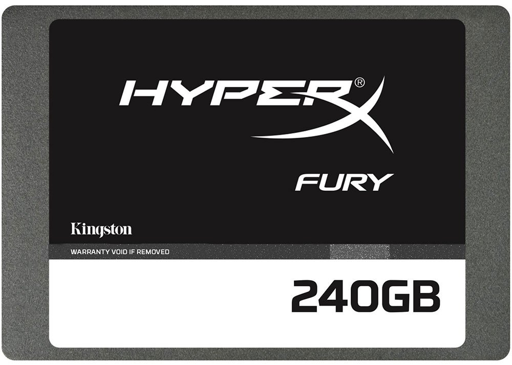 Жесткий диск SSD Kingston HyperX Fury (SHFS37A/240G) 240 Gb