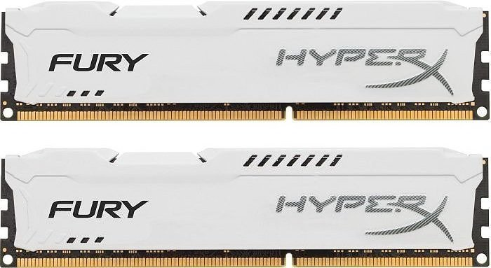 Комплект памяти Kingston HyperX Fury White HX318C10FWK2/16 DDR3 PC-15000 2x8Gb фото
