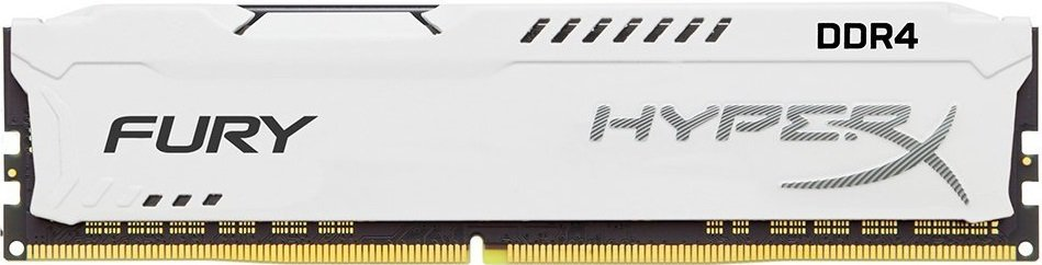 Модуль памяти Kingston HyperX Fury White HX426C16FW/16 DDR4 PC4-21300 16Gb