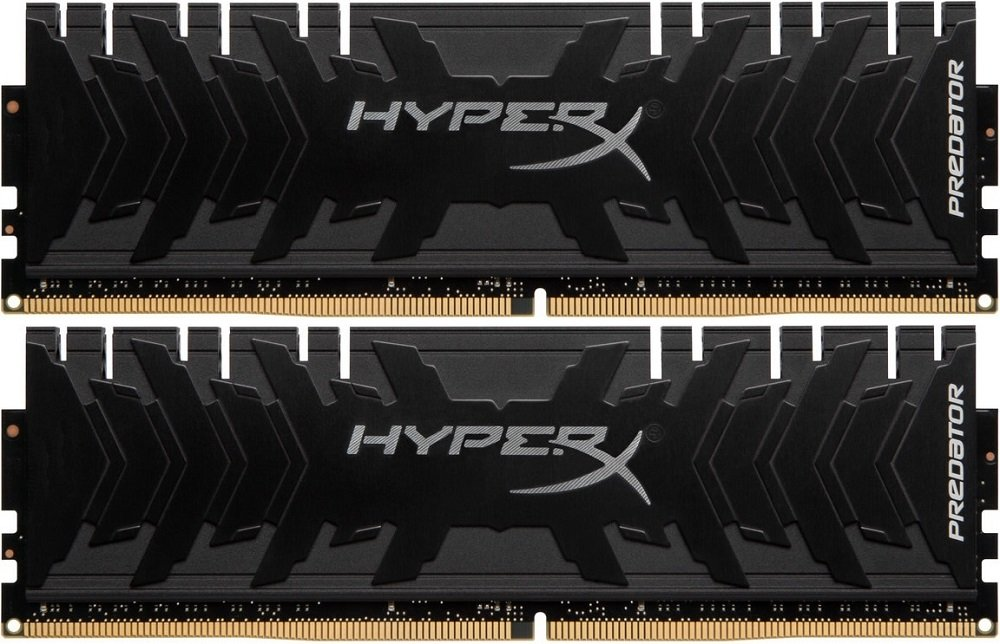 Комплект памяти Kingston HyperX Predator HX424C12PB3K2/32 DDR4 PC4-19200 2x16Gb фото