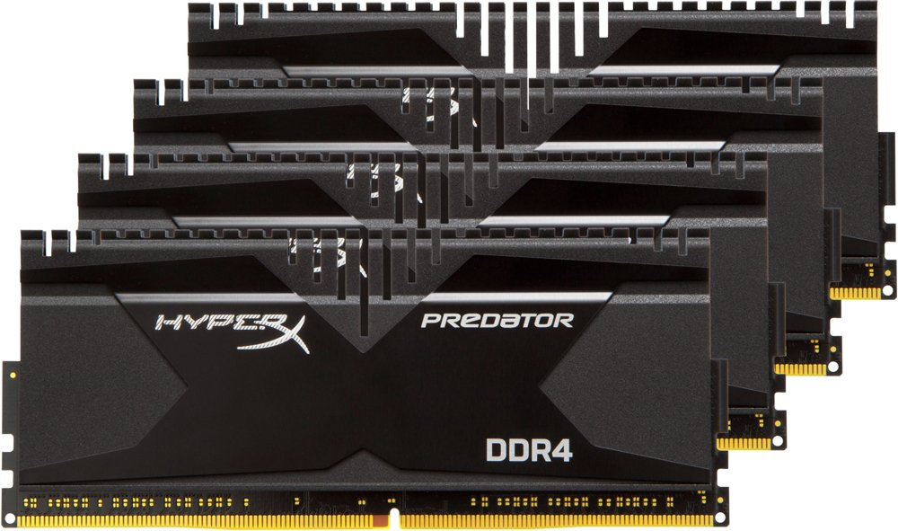 Комплект памяти Kingston HyperX Predator HX430C15PB2K4/16 DDR4 PC-24000 4x4Gb
