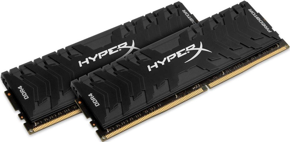 Комплект памяти Kingston HyperX Predator HX430C15PB3K2/8 DDR4 PC4-24000 2x4Gb