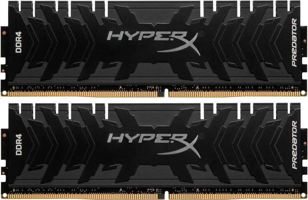 Комплект памяти Kingston HyperX Predator HX433C16PB3K2/16 DDR4 PC4-26600 2x8Gb