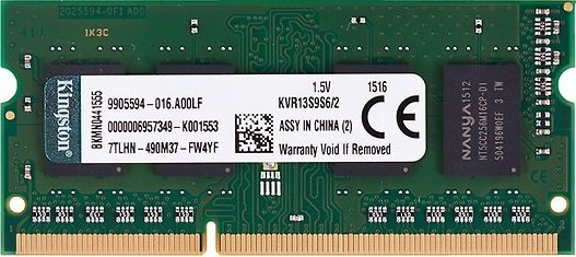Модуль памяти Kingston KVR13S9S6/2 DDR3 PC3-10600 2Gb