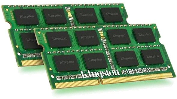 Модуль памяти Kingston KVR13S9S8K2/8 DDR3 PC3-10600 2x4Gb фото