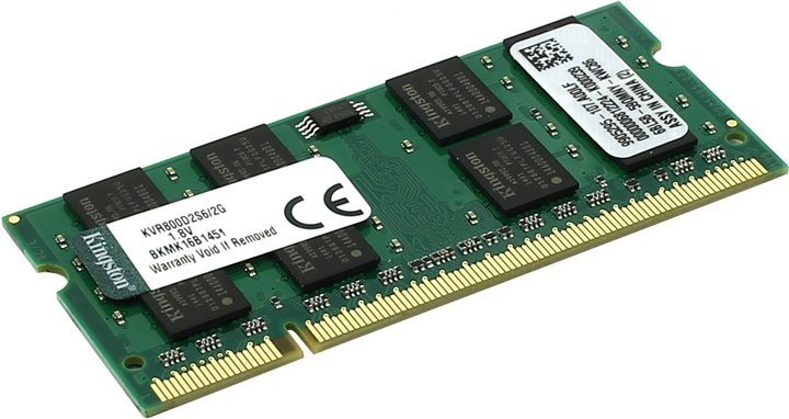 Модуль памяти Kingston KVR800D2S6/2G DDR2 PC6400 2Gb