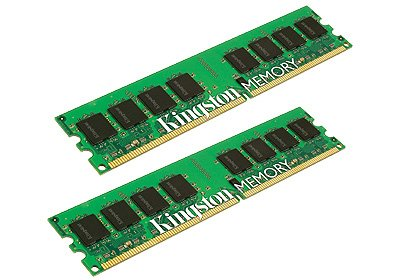 Модуль памяти Kingston KVR800D2S8P6K2/2G DDR2 PC6400 2x1Gb