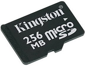 Карта памяти Kingston MicroSD Card 256MB SDC/256