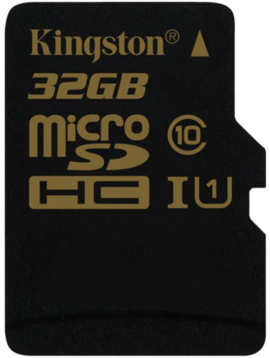 Карта памяти Kingston microSDHC 32Gb Class 10 UHS-I U1 (SDCA10/32GBSP)