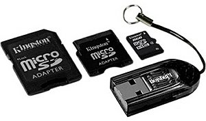 Карта памяти Kingston MicroSDHC Card 8GB MBLYG2/8GB