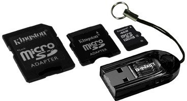 ����� ������ Kingston microSDHC Card Class 4 4GB MBLY/4GB