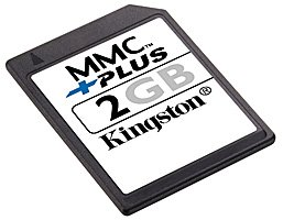 Карта памяти Kingston MMCPlus Card 2GB MMC+/2GB