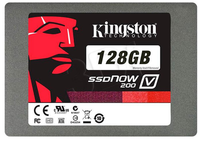 Жесткий диск Kingston SSDNow V200 SV200S37A/128G 128 Gb