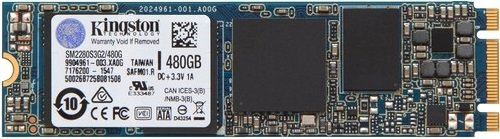 Жесткий диск SSD Kingston SSDNow M.2 (SM2280S3G2/480G) 480Gb