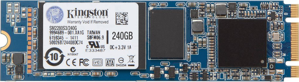 Жесткий диск SSD Kingston SSDNow M.2 (SM2280S3-240G) 240 Gb фото