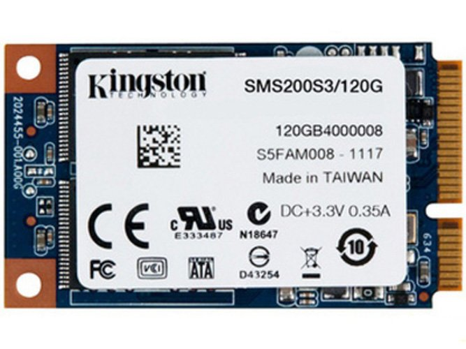 Жесткий диск SSD Kingston SSDNow mS200 (SMS200S3/120G) 120 Gb фото
