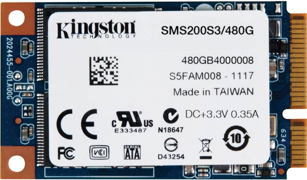 Жесткий диск SSD Kingston SSDNow mS200 (SMS200S3/480G) 480Gb