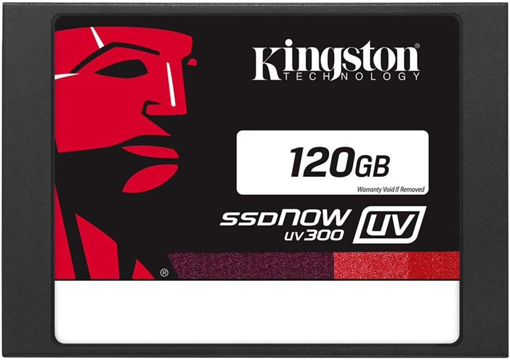 Жесткий диск SSD Kingston SSDNow UV300 (SUV300S37A/120G) 120 Gb