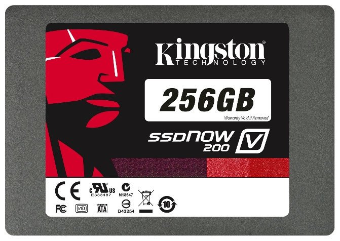 Жесткий диск Kingston SSDNow V200 SV200S3/256G 256 Gb