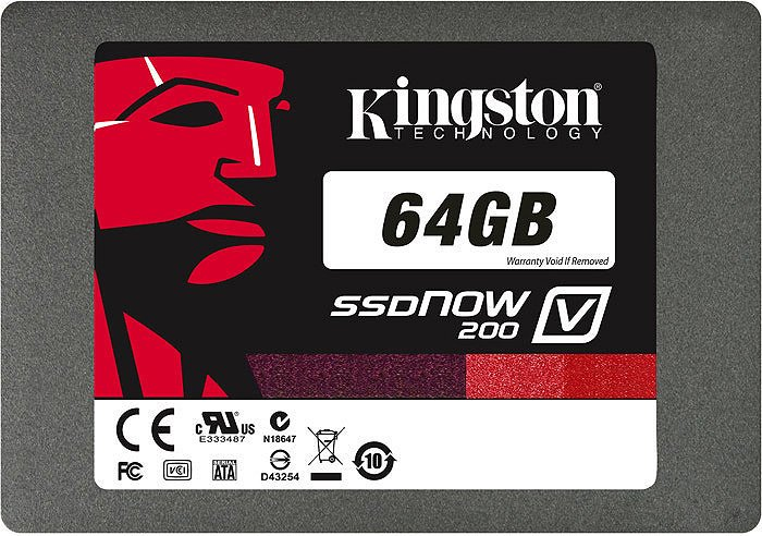 Жесткий диск Kingston SSDNow V200 SV200S3N7A/64G 64 Gb