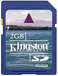 Карта памяти Kingston Standard Secure Digital Card 2GB SD/2GB фото