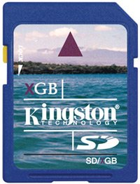 Карта памяти Kingston Standard Secure Digital Card 4GB