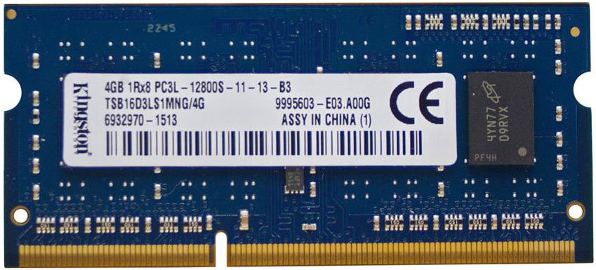 Модуль памяти Kingston TSB16D3LS1MNG/4G DDR3 PC3-12800 4Gb